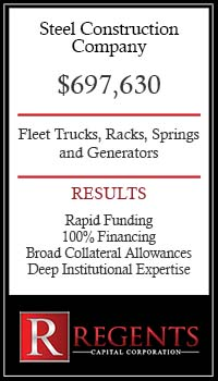 Steel equipment financing graphic