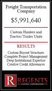freight transportation company financing