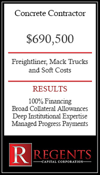 Concrete contractor financing graphic
