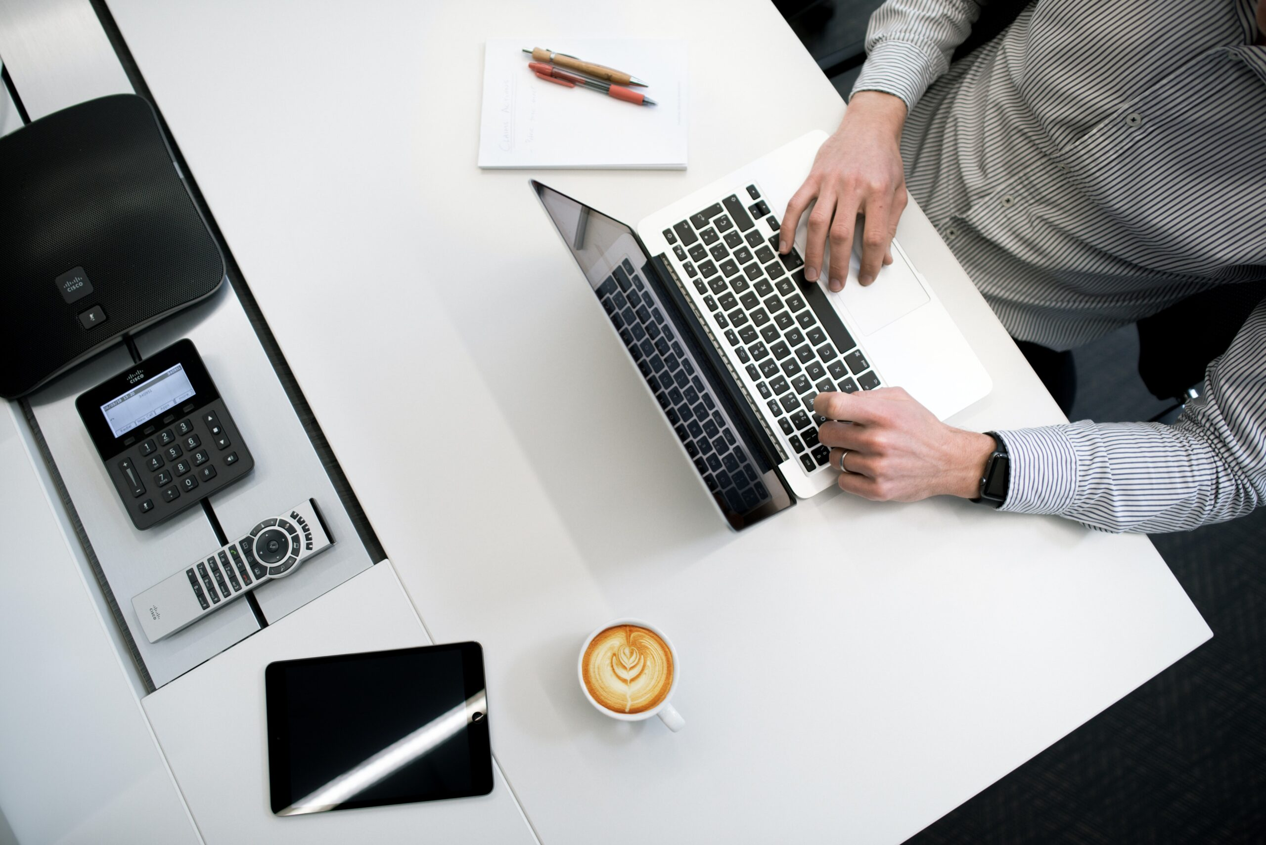 technology Equipment financing on a laptop