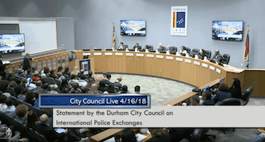 Voice4Israel, V4I, Durham City Council, Israel, BDS, boycott