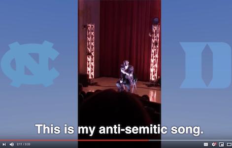 UNC Duke Israel anti-Semitism