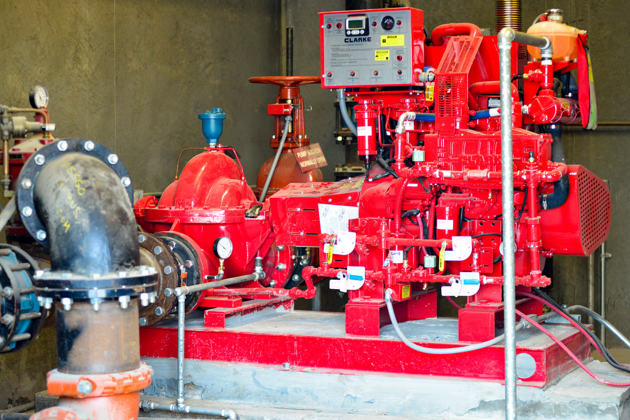 fire pump inspection and fire pump service