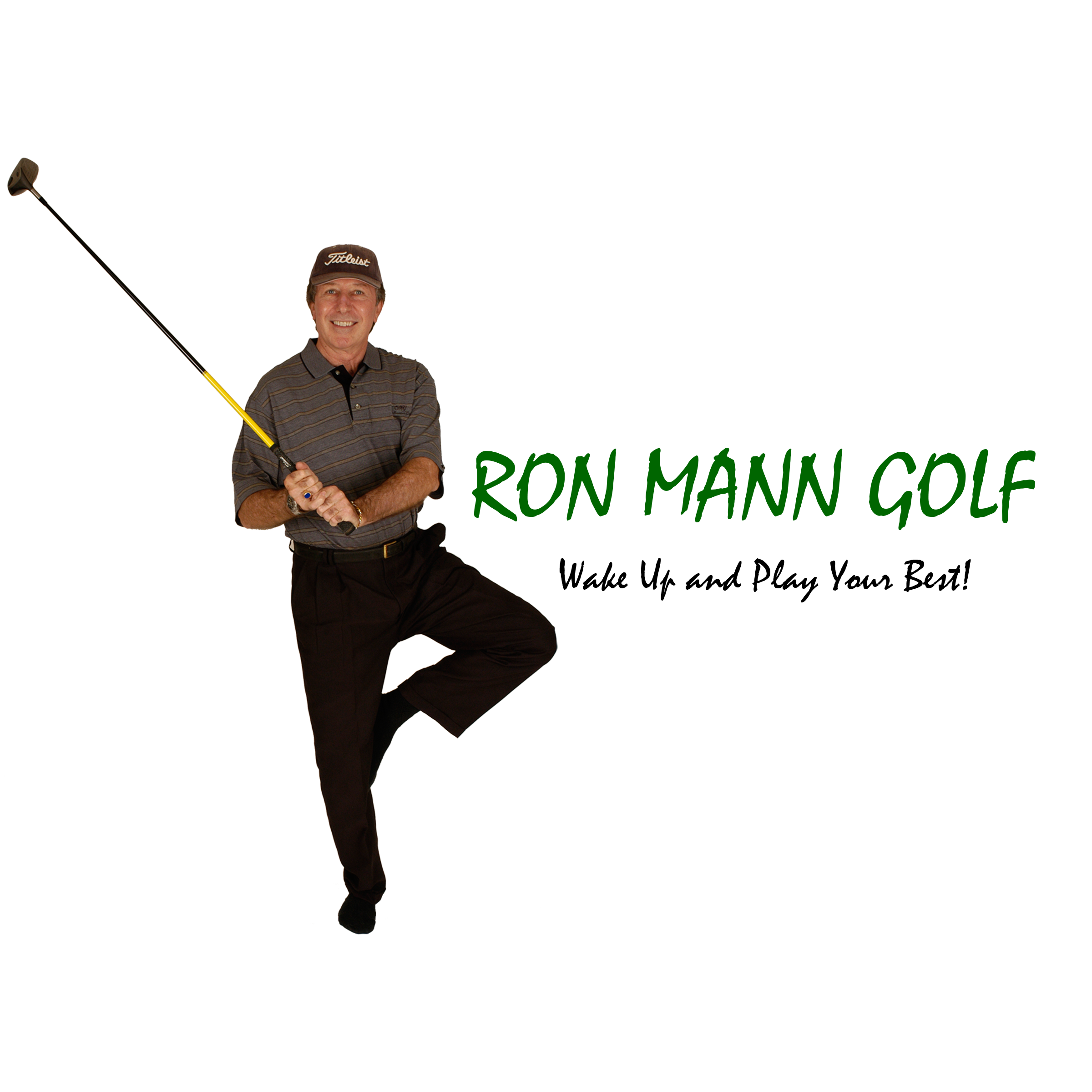 ron mann golf logo