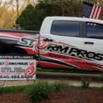 Picture of the Storm Pros VA truck
