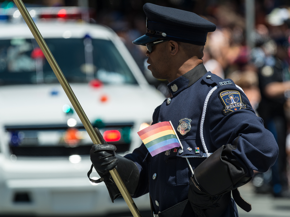 LGBT Police Officers Experience Harassment, Discrimination In the Line of Duty