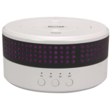 Ultrasonic Dual Mist Essential Oil Diffuser, 2 Directional Mist Nozzles Rotate 360° & Rotating LED Lights