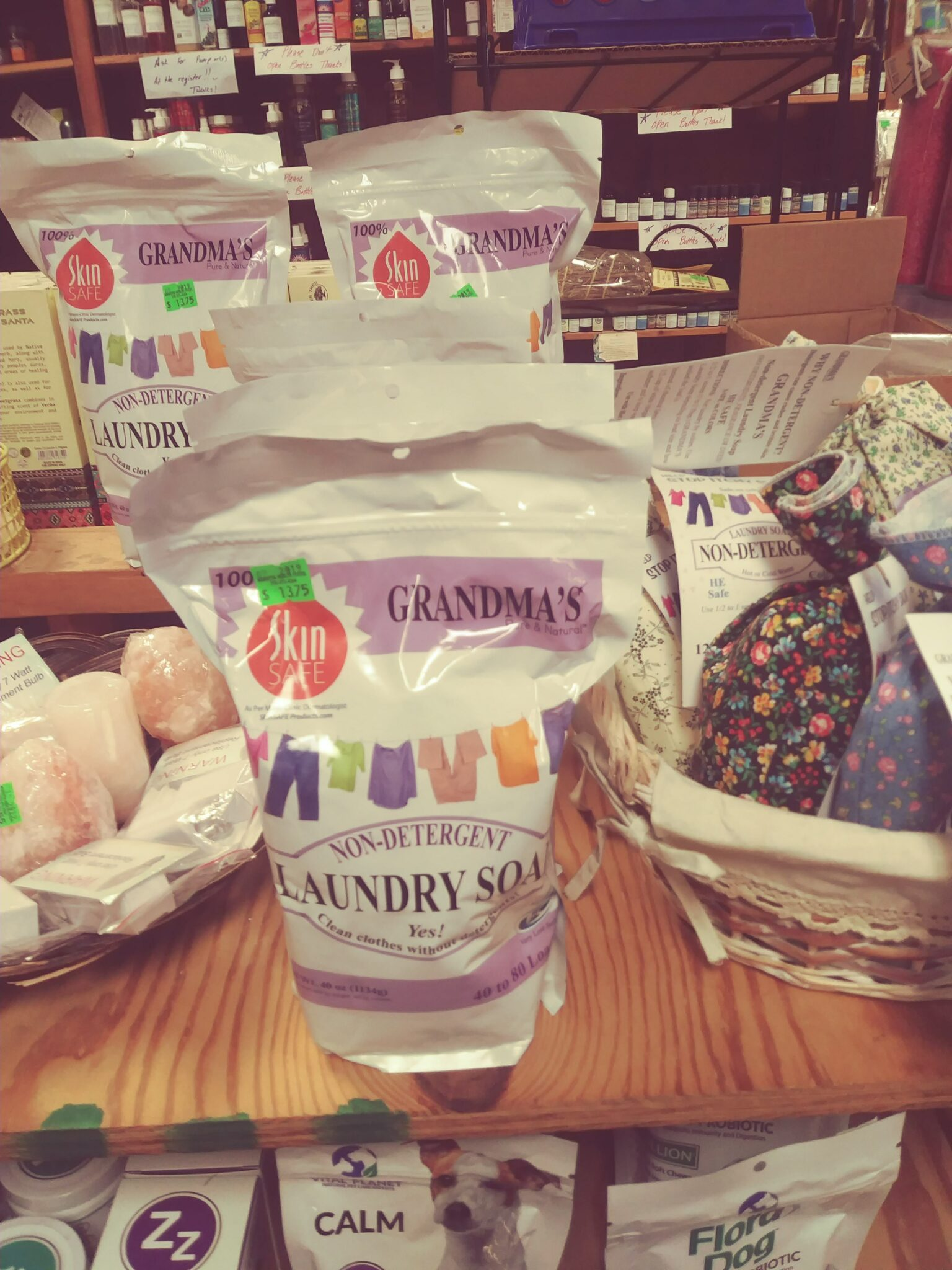 Natural Laundry Soaps