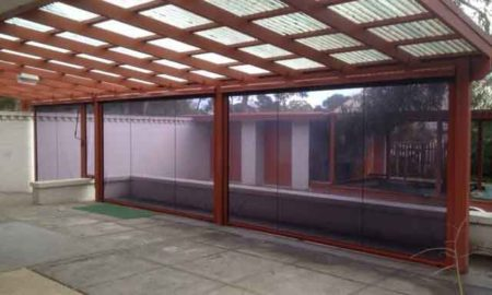 Awnings Channel Blinds - Tinted