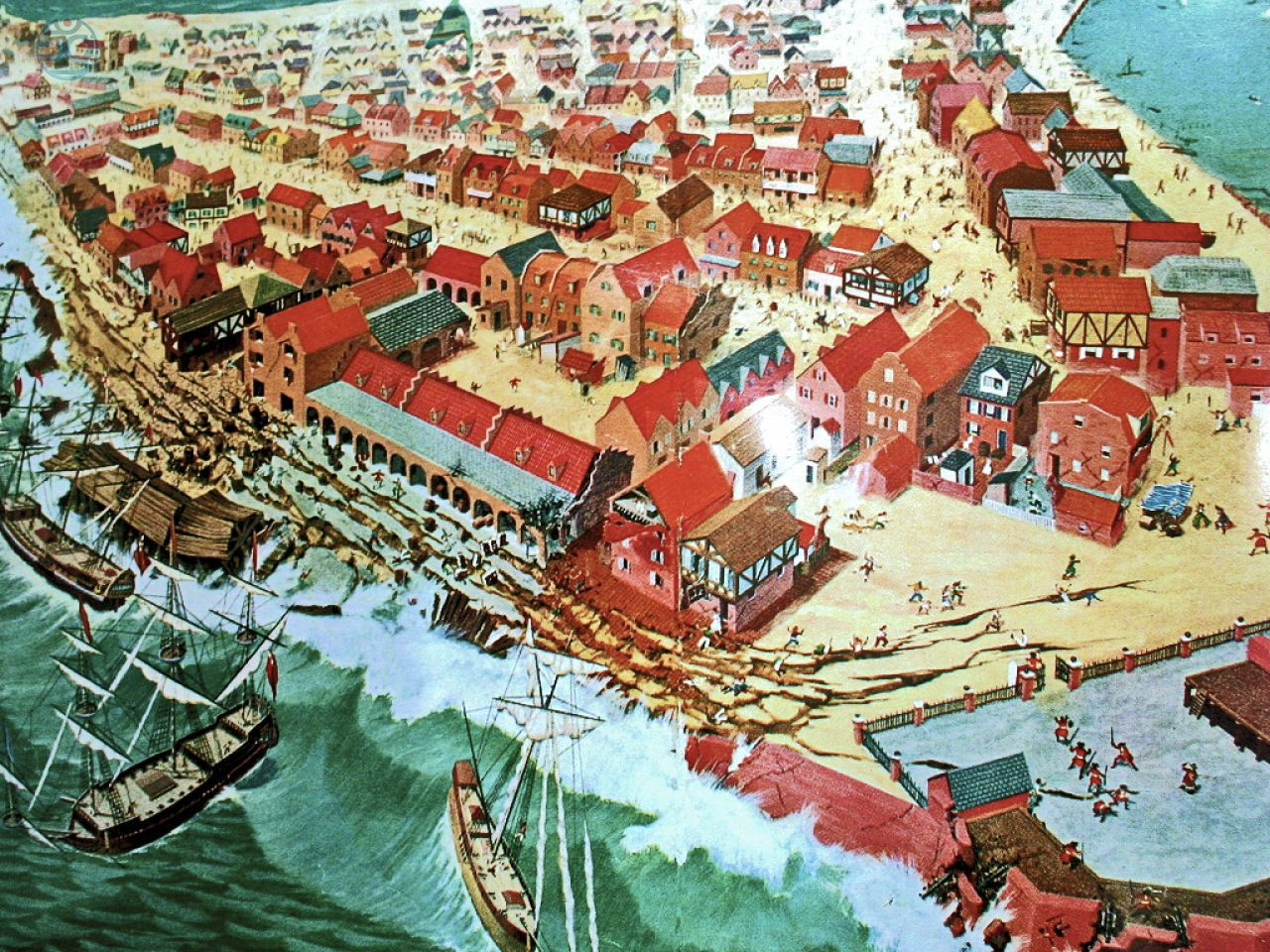 Port Royal in the 17th century
