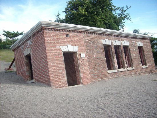 The Famous Giddy House. It is said that a person gets giddy when they are inside