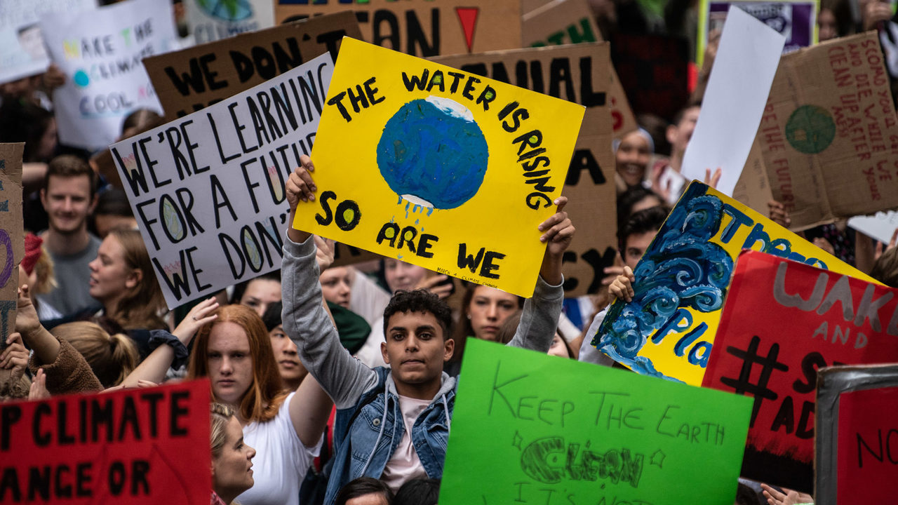 How Have People Around the World Participated in the Climate Change Strike?