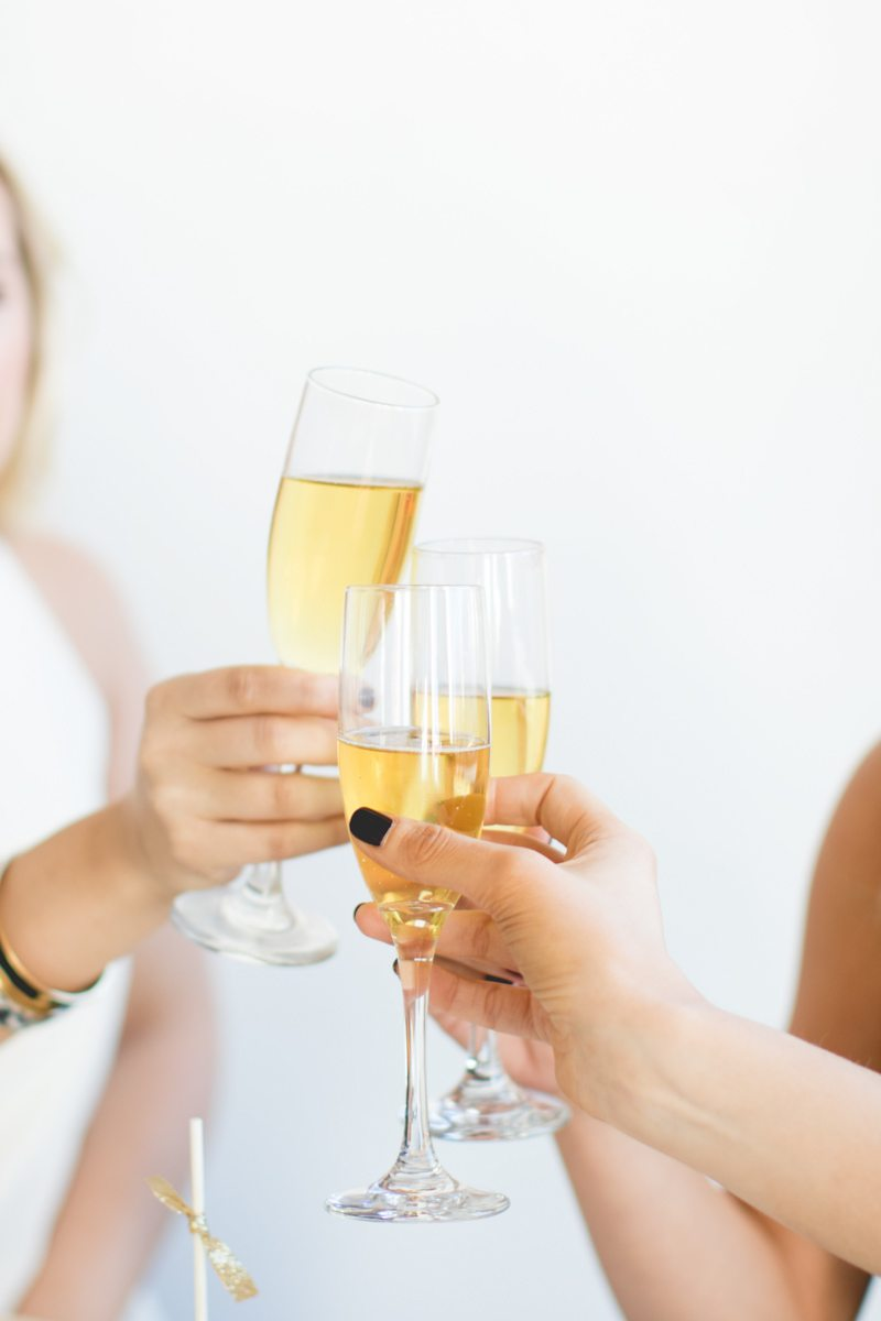 Glitz + Gold New Year's Eve Party Inspiration, NYE Party Inspiration, Gold Party Inspiration, Fashion Blogger Editorial, Featured on The Celebration Society
