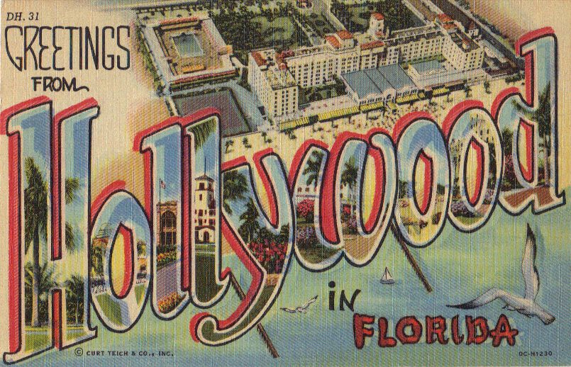 Hollywood Florida sign