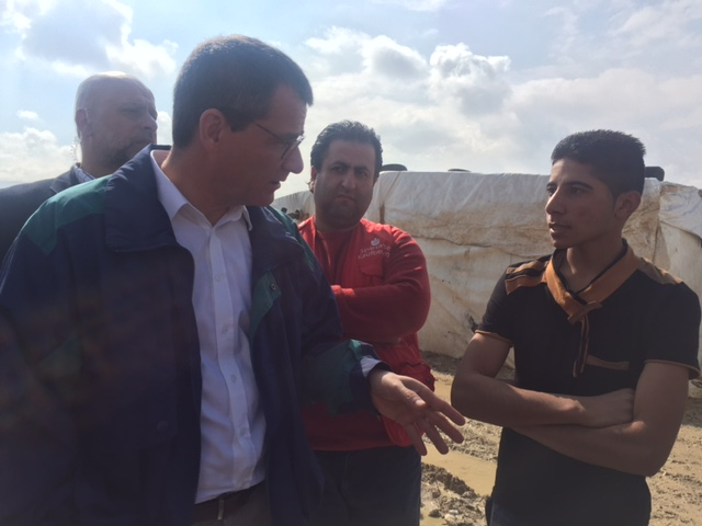 سفير ألمانيا في لبنان -  مارتن هوت