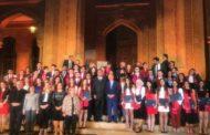 فوشيه مكرّما المتفوقين في المدارس الفرنسية: التعليم الفرنكوفوني جزء من تجديد لبنان