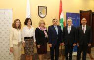 سفيرا سلوفاكيا وتشيكيا يستعيدان تأسيس تشيكوسلوفاكيا في جامعة بيروت العربية