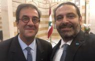 فرنسا تؤيد بقاء حكومة الحريري وتنفيذها الإصلاحات المطلوبة من المحتجين