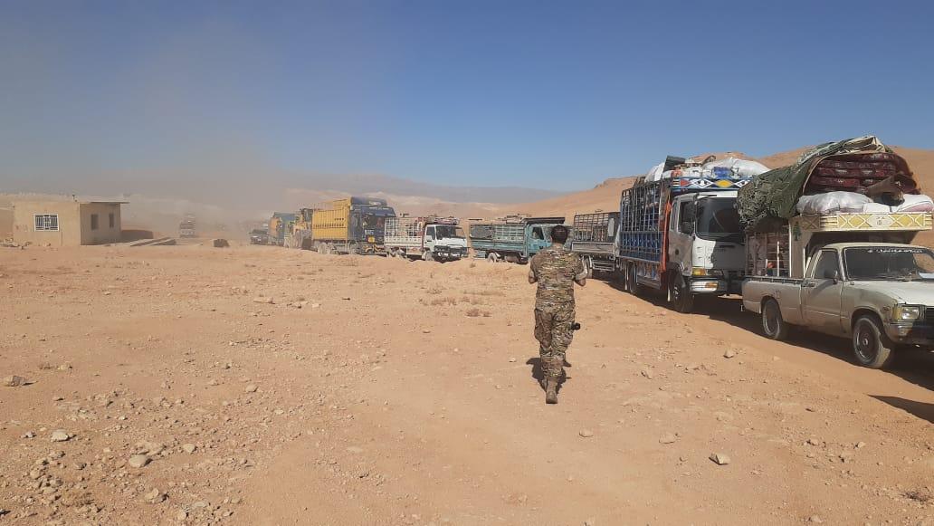 926 نازحا سوريا عادوا طوعيا الى مناطقهم