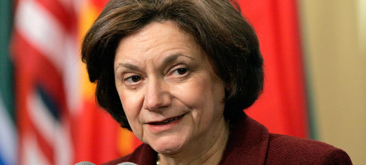 وكيلة الأمين العام للأمم المتحدة لشؤون السياسة وبناء السلام روزماري ديكارلو تزور لبنان