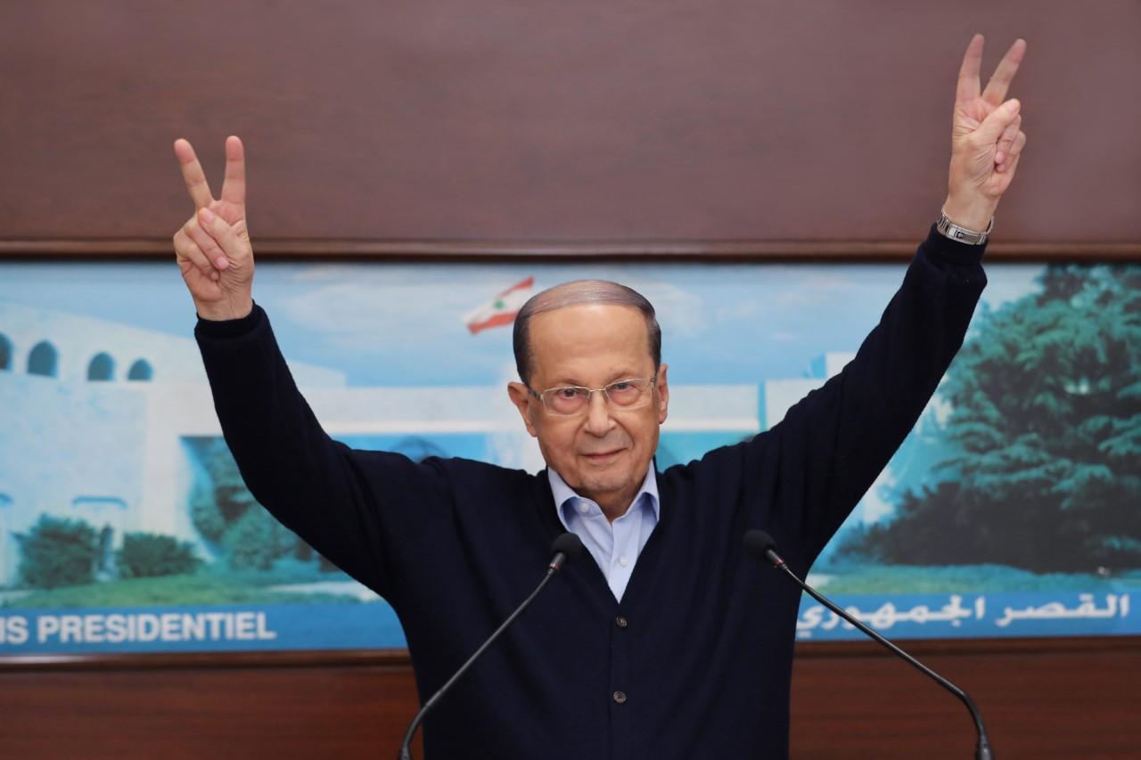 الرئيس عون للبنانيين: اقول لكم أنا أيضاً أحبكم وأحبكم