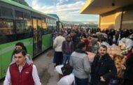 عودة 1498 نازحا الى سوريا