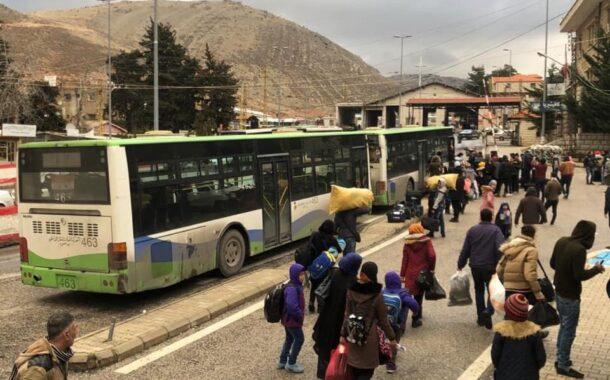 عودة طوعية لـ1093 نازحا سوريا