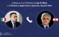 دي مايو في اتصال مع حتّي: دعم ايطاليا مستمر للمؤسسات اللبنانية