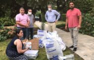 الجالية اللبنانية في بلجيكا واللوكسمبورغ تجمع المساعدات للمنكوبين في لبنان