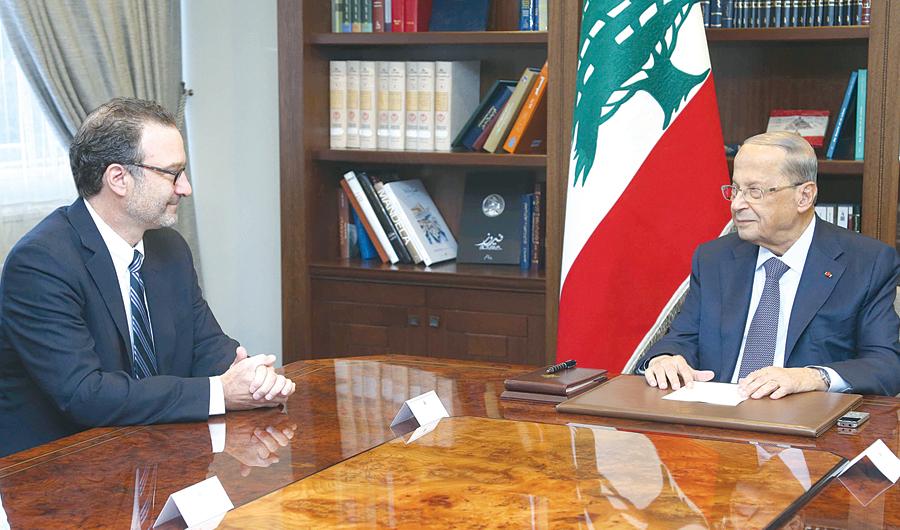 شنكر: اتفاق الإطار للمباحثات البحرية الإسرائيلية اللبنانية ليس تطبيعا