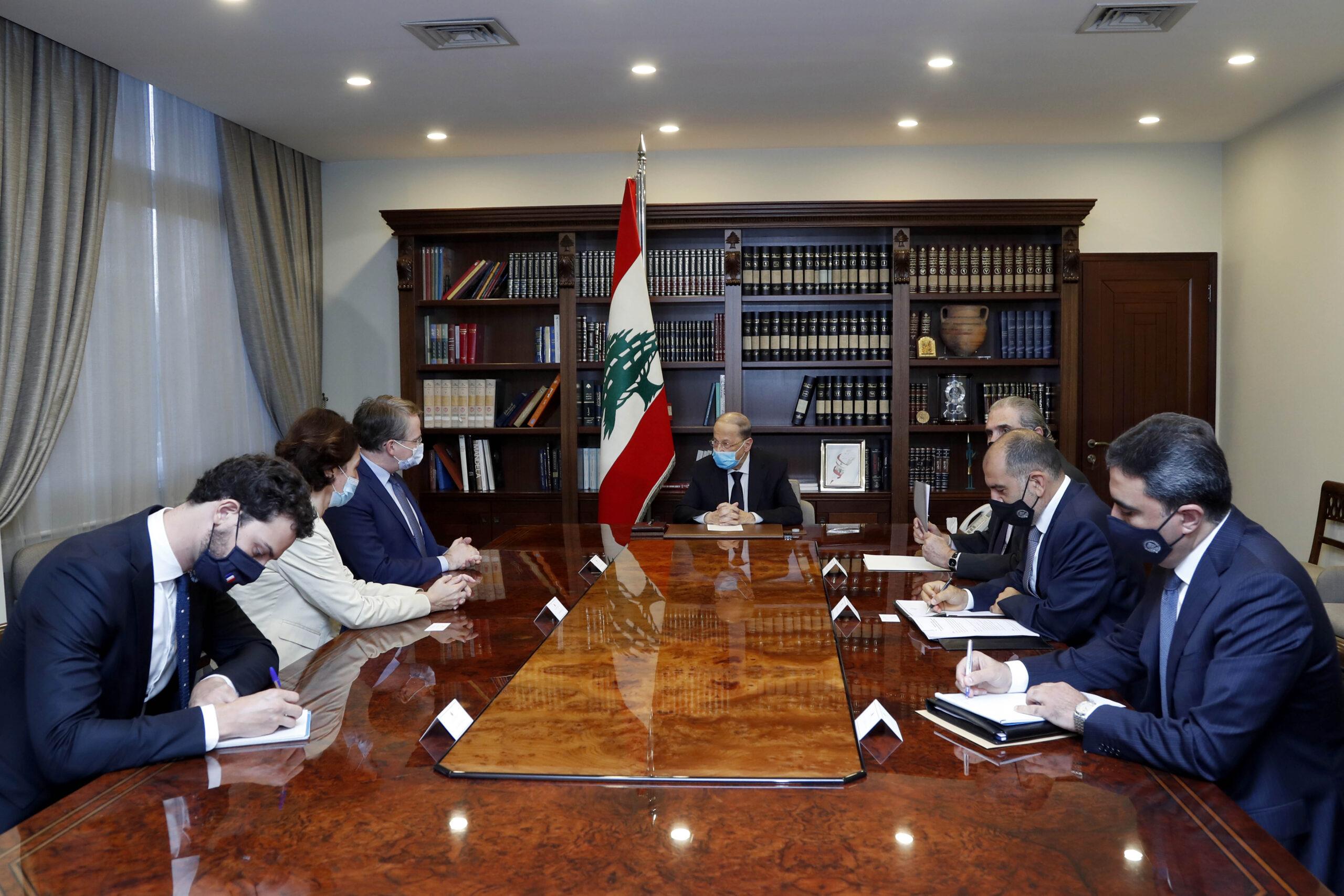 دوريل في لبنان لممارسة ضغوط لتشكيل حكومة سريعة تقود الاصلاحات الضرورية