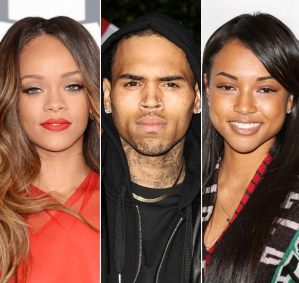 late 2012-2013- The drama the is known as the Chris Brown Love Triangle takes affect. Chris Brown acknowledges that he is on lov with both mistress and former girlfriend Rihanna and present model and girlfirend Karruenche Tran.