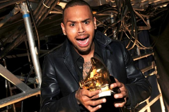 Feb 2012- Chris Brown is finally invited back to the Grammy's exactly 3 years after that tragic night. To top the night off he won Best R&B Album. To add content to his character the crooner  tweeted: 'HATE ALL U WANT BECUZ I GOT A GRAMMY Now! That's the ultimate F**K OFF.'