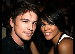 """2007- In September Chris announced he was """"single and ready to mingle"""", while in October songtress Rihanna was linked to White Hot Actor Josh Hartnett."""