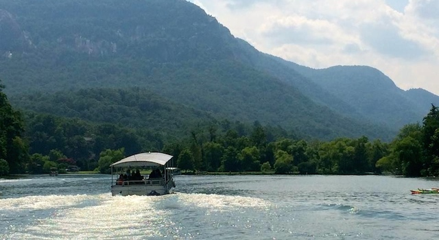 Lake Lure Boat Tours