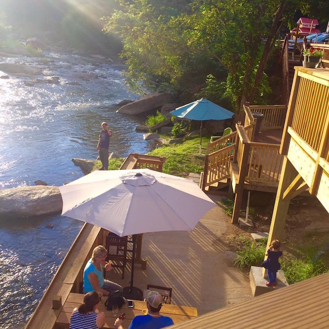 Hickory Nut Gorge Brewery Chimney Rock