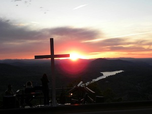 Easter Sunrise Service Chimney Rock Park