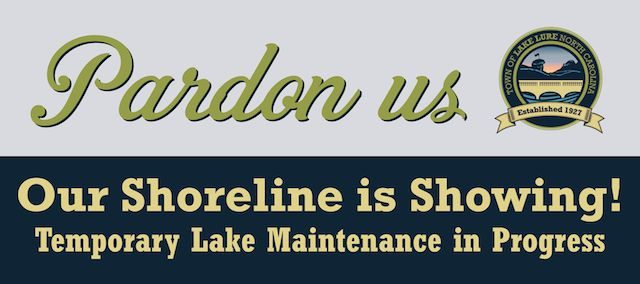 Pardon Us lake graphic