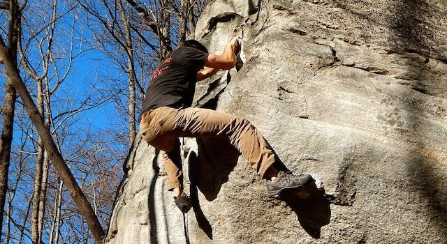 Triple Crown of Bouldering - Rumbling Bald Mountain