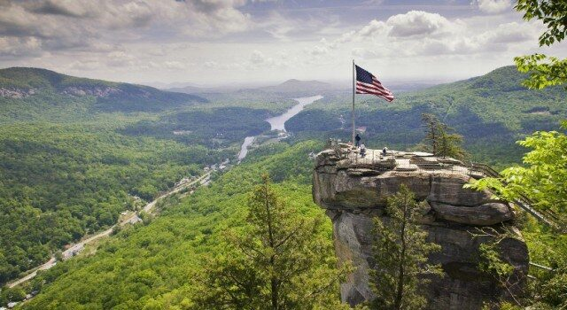Chimney Rock at Chimney Rock Park