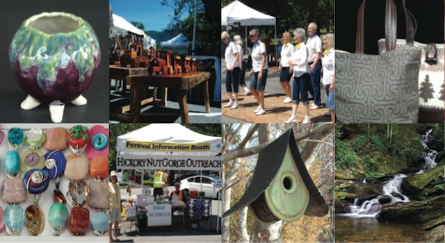 Lake Lure Arts and Crafts Festival Vendors and Entertainment