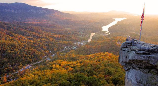 Chimney Rock Fall