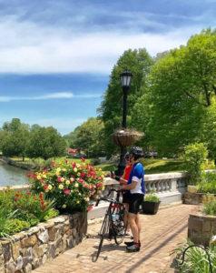 Flowering Bridge River View