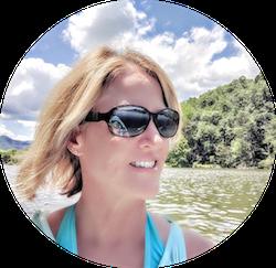 Lisa Kayaking Lake Lure