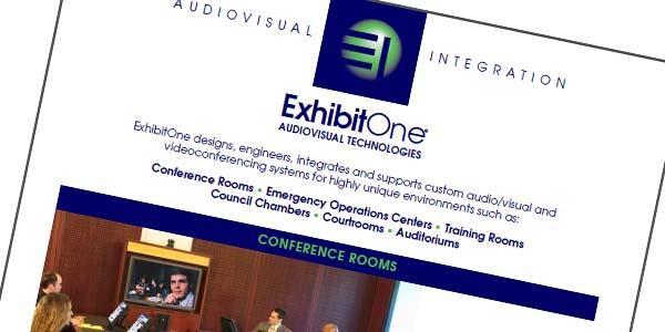 ExhibitOne Brochures