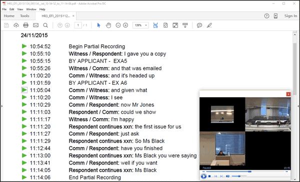 Digital Recording converted to pdf