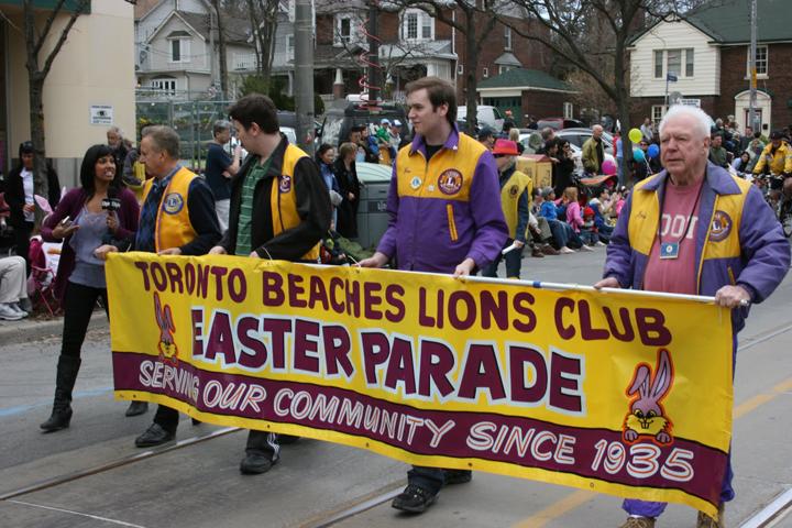 Toronto Beaches Easter Parade