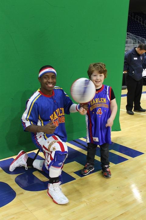 Too tall spinning basketball