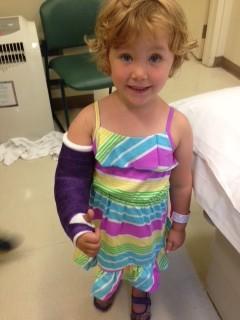 Injured kid travel