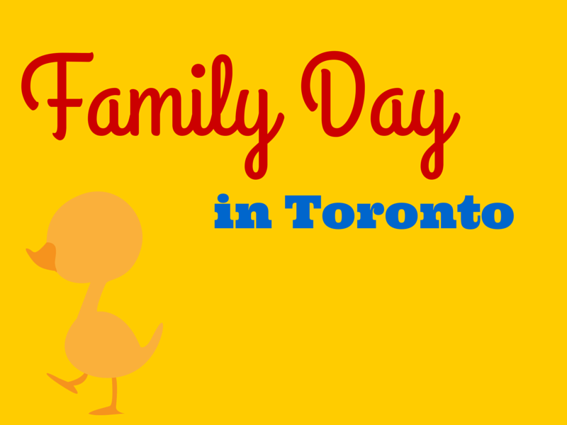 Family Day in Toronto